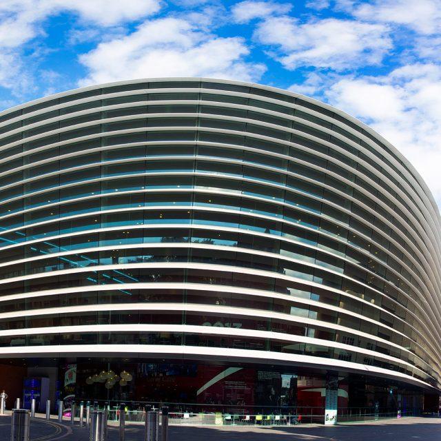 Curve Theatre Leicester, building exterior