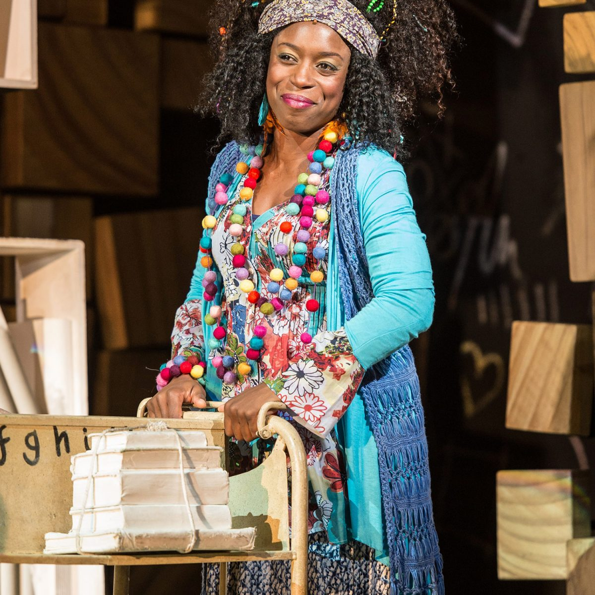 RSC's Matilda performance at the Curve Theatre